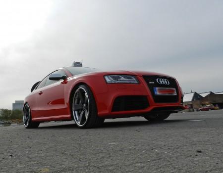 Audi RS5 – Préparation photo shoot.