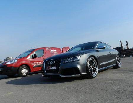 Audi RS5 – Préparation pour photo shoot.
