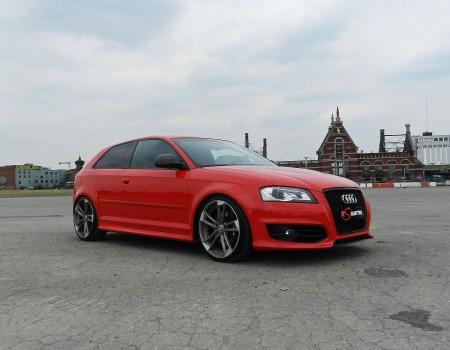 Audi S3 – Préparation photo shoot.